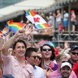 Justin Trudeau, embajador LGBT