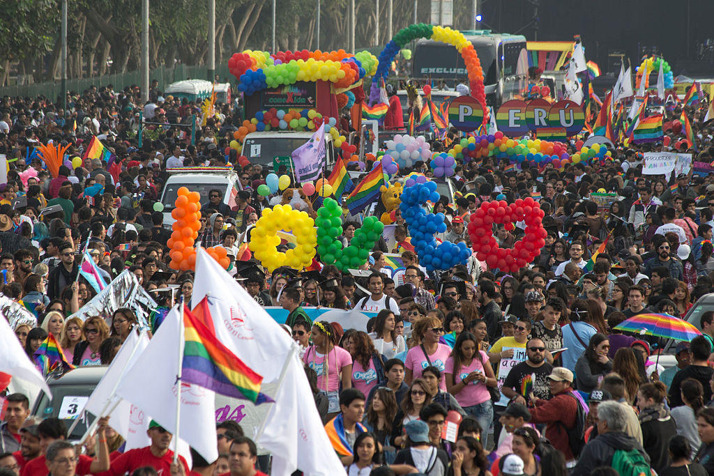 Marcha multitudinaria en Lima