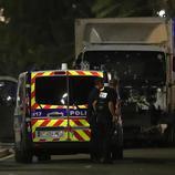 El conductor del camión fue abatido por la Policía inmediatamente