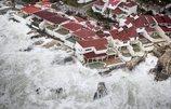 La costa de San Martín es tragada por el agua a causa del huracán Irma
