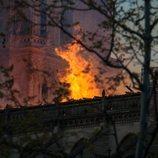 Las llamas dañaron gravemente la catedral de Notre Dame