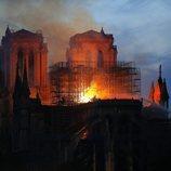 El incendio de Notre Dame se alargó durante horas
