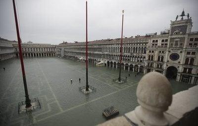 Las imágenes más impactantes de las inundaciones de Venecia