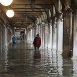 Venecia, paralizada ante las inundaciones