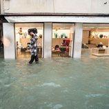 El 'acqua alta' de Venecia no cesa