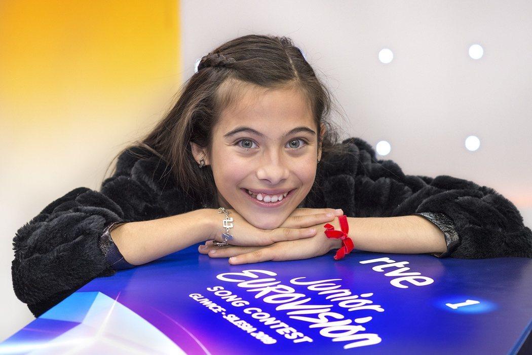 """Melani ha viajado a Polonia para """"cumplir su sueño"""" en Eurovisión Junior"""