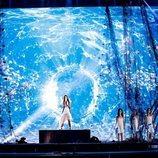 Melani durante el primer ensayo de Eurovisión Junior 2019