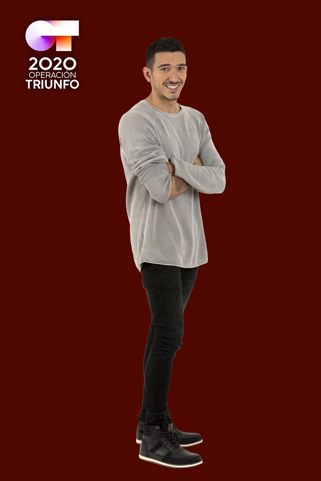 Posado de Bruno Carrasco, concursante de 'OT 2020'