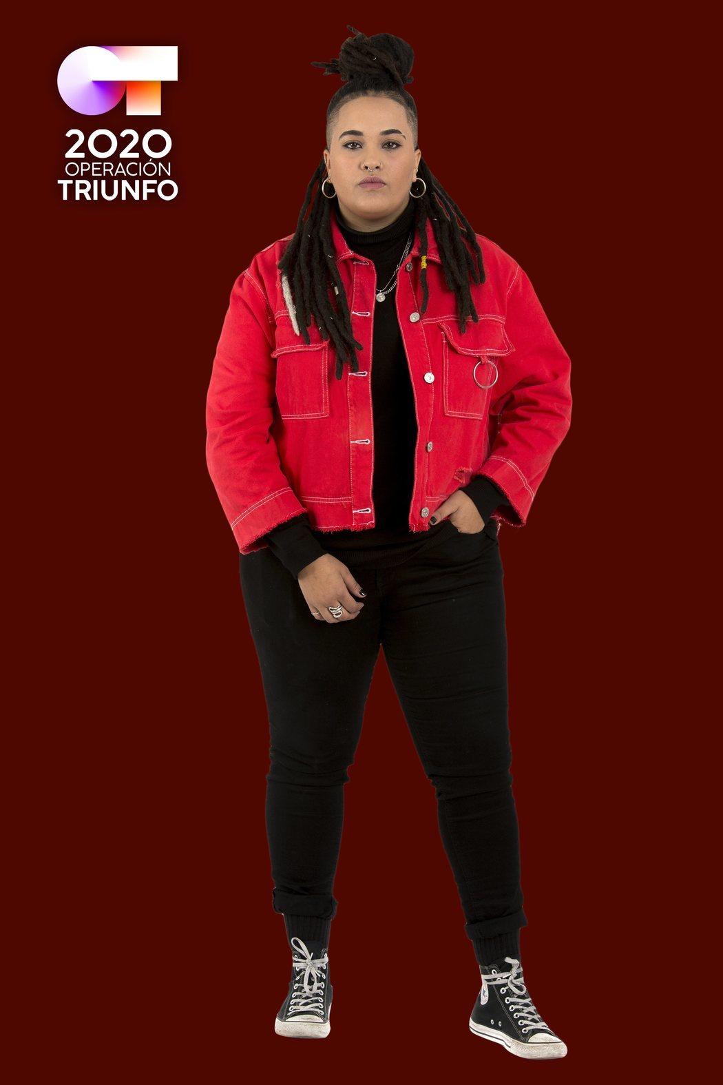 Posado de Eli Sánchez, concursante de 'OT 2020'