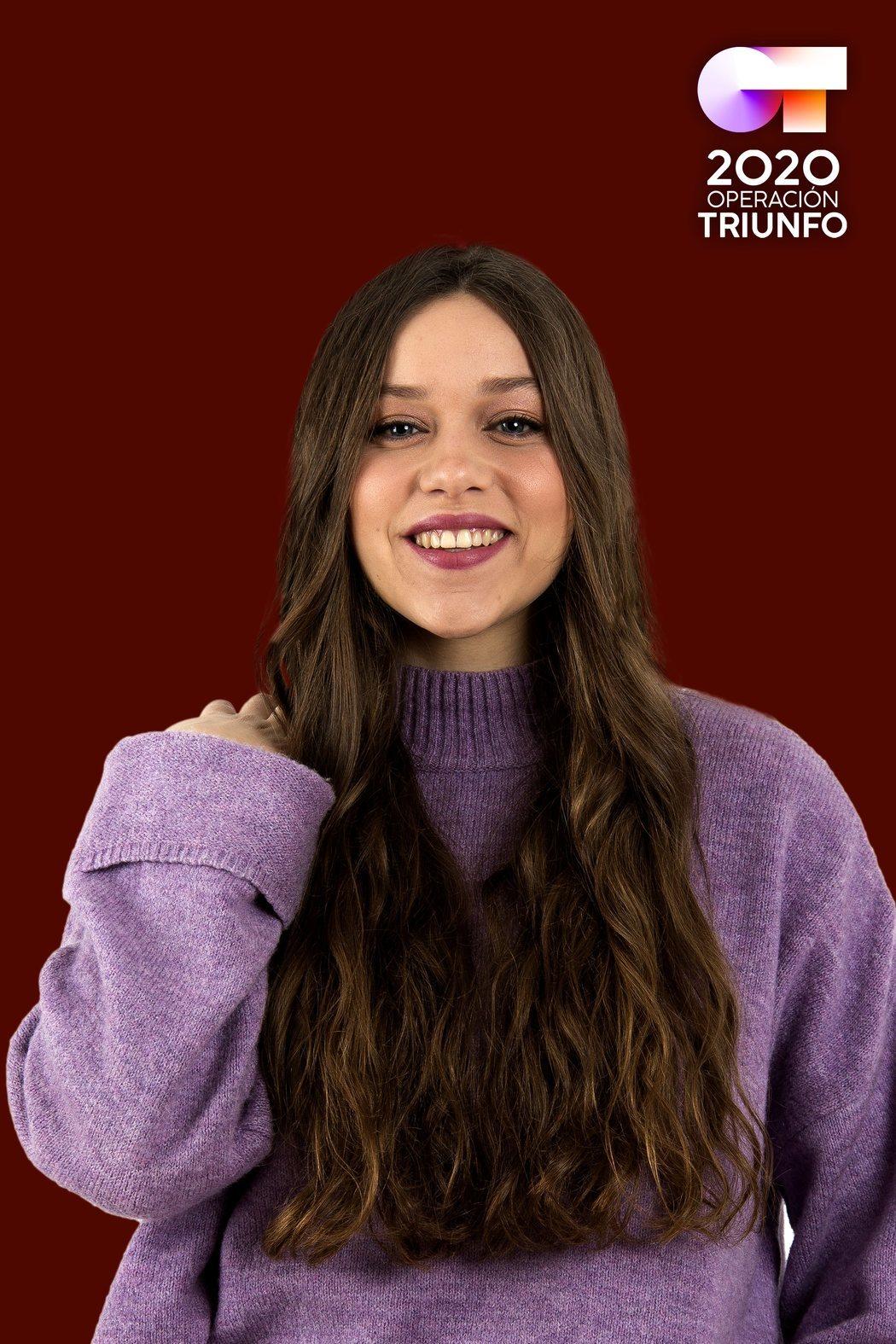Eva Barreiro, concursante de 'OT 2020'