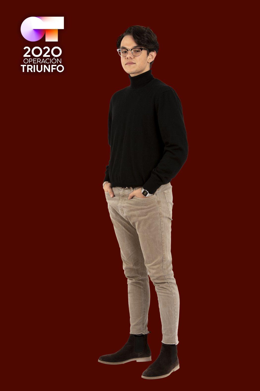 Posado de Flavio Fernández, concursante de 'OT 2020'