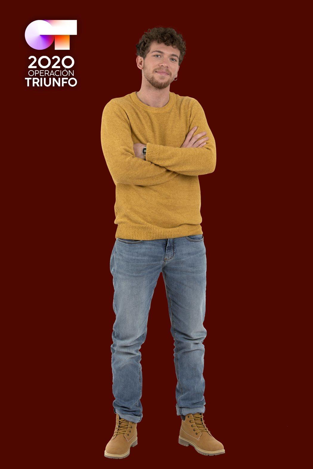 Posado de Jesús Rendón, concursante de 'OT 2020'