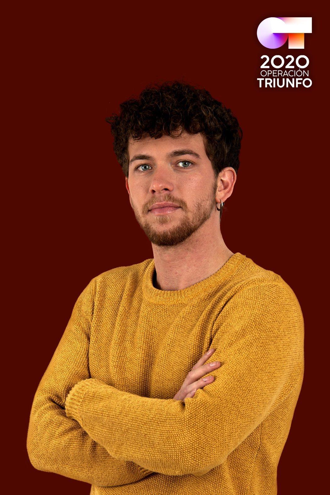 Jesús Rendón, concursante de 'OT 2020'