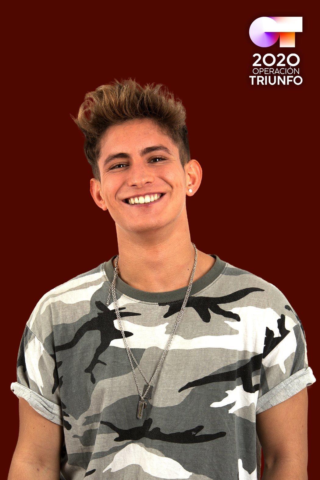 Nick Martínez, concursante de 'OT 2020'