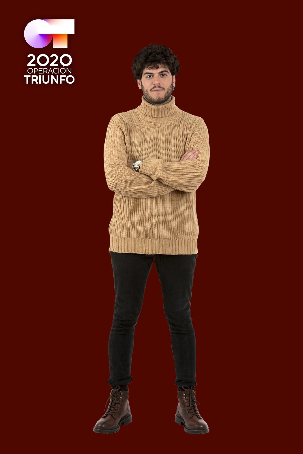 Posado de Rafa Romera, concursante de 'OT 2020'