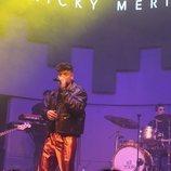 Ricky en el concierto de despedida del 3Tour
