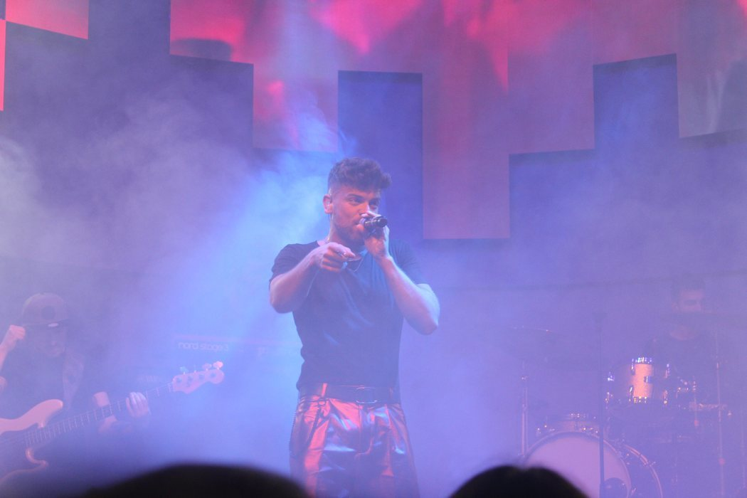 Ricky, adrenalina y baile en el 3Tour