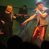 Ricky y María Escarmiento en el último concierto del 3Tour