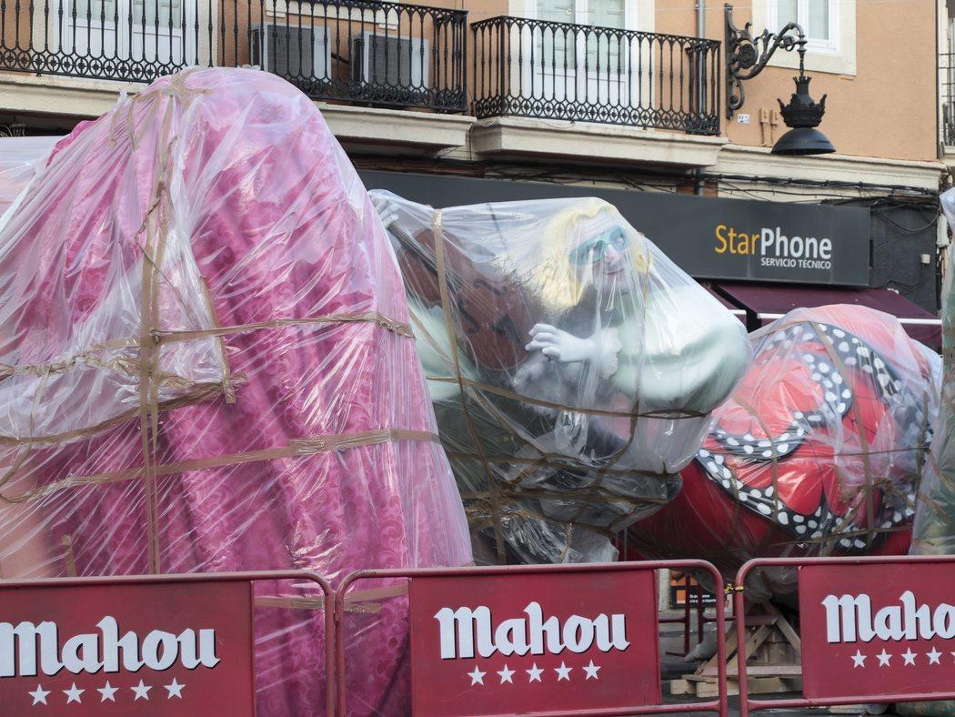 Valencia se queda sin fallas por el coronavirus