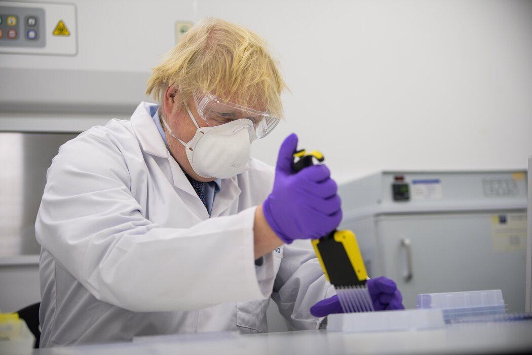 Boris Johnson, biólogo