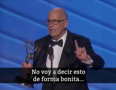 Jeffrey Tambor en los Emmy 2016: 'Dad al talento transgénero una oportunidad'