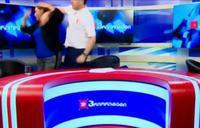 Dos políticos georgianos llegan a las manos en directo