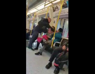 La increíble reacción de una mujer española ante un ataque racista en Londres