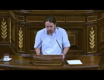 Albert Rivera llamando 'gilipollas' a Pablo Iglesias