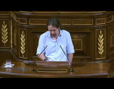 Cospedal llama 'sinvergüenza' a Pablo Iglesias