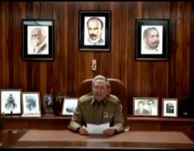 Raúl Castro anuncia la muerte de Fidel Castro