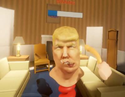 El videojuego en el que puedes azotar a Donald Trump con un dildo