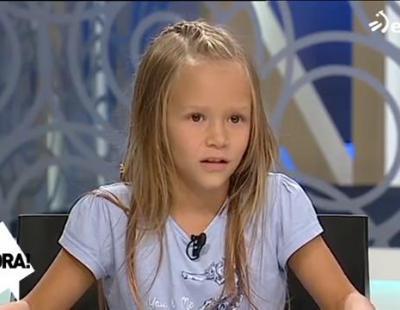 Nahiane, la menor transexual de 9 años explica su transición