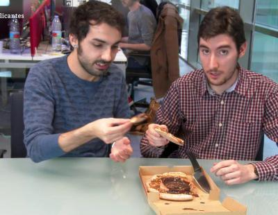 Probamos la pizza de Kit Kat: el sueño de los más golosos