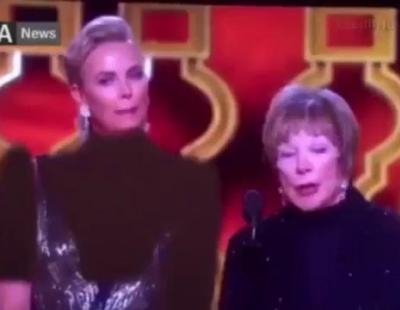 La televisión iraní censura el escote de Charlize Theron