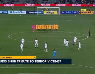 La selección de Arabia Saudí no honra a las víctimas del atentado de Londres