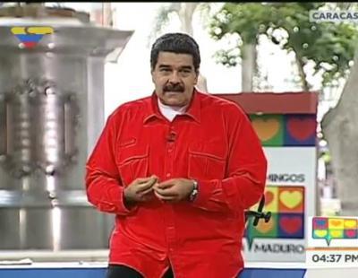 Maduro versiona 'Despacito' para llamar a los votantes