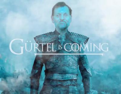#GürtelisComing, la parodia de Podemos sobre la corrupción del PP a lo 'Juego de Tronos'