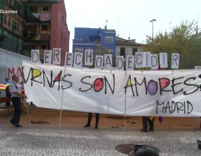 1-O en Cataluña: dos visiones enfrentadas