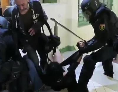 Mujer denuncia graves abusos policiales durante el 1-O
