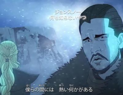 La intro de 'Game of Thrones' versión anime