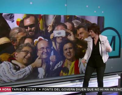 Así manipula TV3 las manifestaciones a favor de la unidad de España