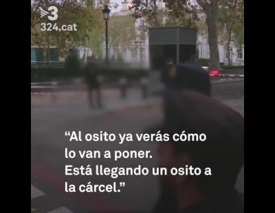 Tres agentes nacionales se burlan del encarcelamiento de Junqueras y el resto de exconsellers
