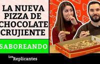 Probamos la nueva Telepizza de bombones... ¿nos gustará?