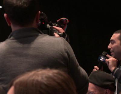 Un periodista de Azerbaiyán increpa a Armenia en la rueda de prensa de la 1ª Semifinal de Eurovisión 2016