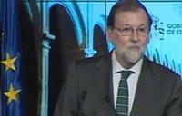 """Rajoy: """"hay cosas bonitas, otras no tanto y no me acuerdo de ninguna"""""""