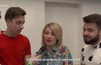 Los representantes de Eurovisión 2018 analizan el  mal historial de España en el festival