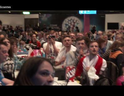 Así reacciona la sala de prensa con los clasificados de la 2ª Semifinal de Eurovisión 2016