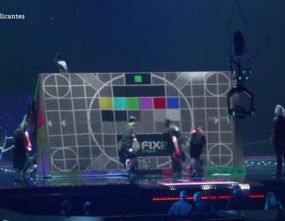 Así se prepara el mapping de Sergey Lazarev (Eurovisión 2016)
