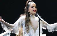 Actuación de Rosalía en los Grammy 2020 cantando 'Juro que' y 'Malamente'