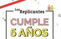 Quinto aniversario de Los Replicantes: lo celebramos con récord histórico